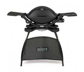 Pack barbacoa Weber® Q2200 Black + kit 2 accesorios + funda