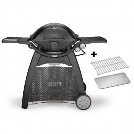 Barbacoa Weber® Q3200 Black + kit cocción indirecta