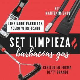 SET LIMPIEZA BARBACOAS DE GAS