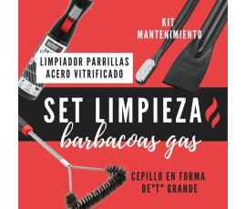 SET LIMPIEZA BARBACOA DE GAS