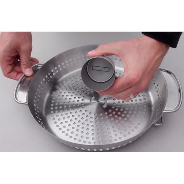 Soporte de cocción para pollo gourmet BBQ System