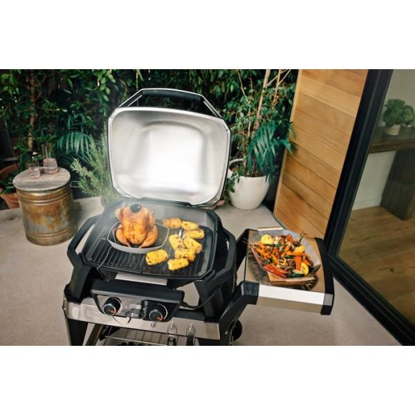 Barbacoa Weber® PULSE 2000 con carro y mesa
