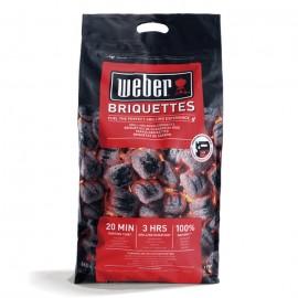 Saco de 8 Kg de briquetas de carbón