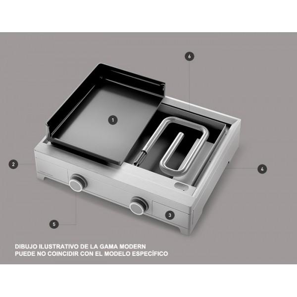 Plancha Forge Adour Modern G60 Acero Esmaltado