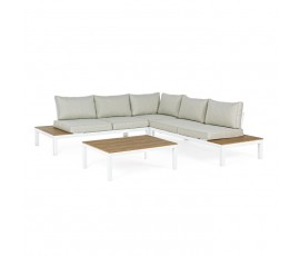Conjunto Elias sofá L + mesa