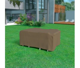 Funda mesa rectangular + 4 sillas 225 x 145 x h.90 cm Nortene